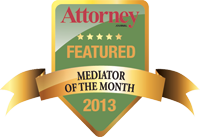 2013 Featured Mediator Badge